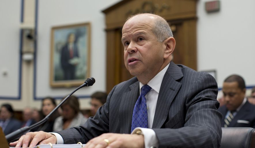 FILE - In this Feb. 27, 2013, file photo, Federal Aviation Administration Administrator Michael Huerta testifies on Capitol Hill in Washington. The FAA has ruled out requiring psychological testing for airline pilots in favor of enhanced mental health support programs in response to a crash last year in which a German pilot deliberately flew an airliner full of passengers into a mountainside, Huerta said June 9, 2016. (AP Photo/Carolyn Kaster)