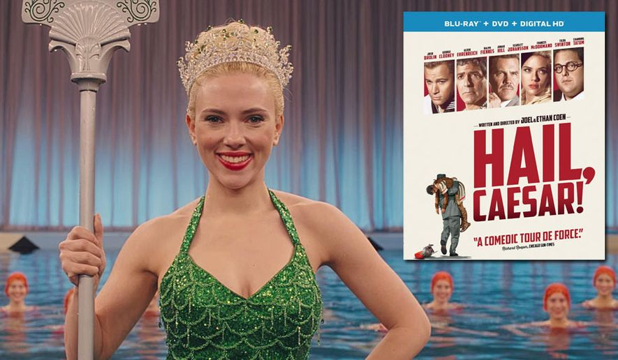 "Scarlett Johansson as DeeAnna Moran in ""Hail, Caesar!"" now available on Blu-ray from Universal Studios Home Entertainment."