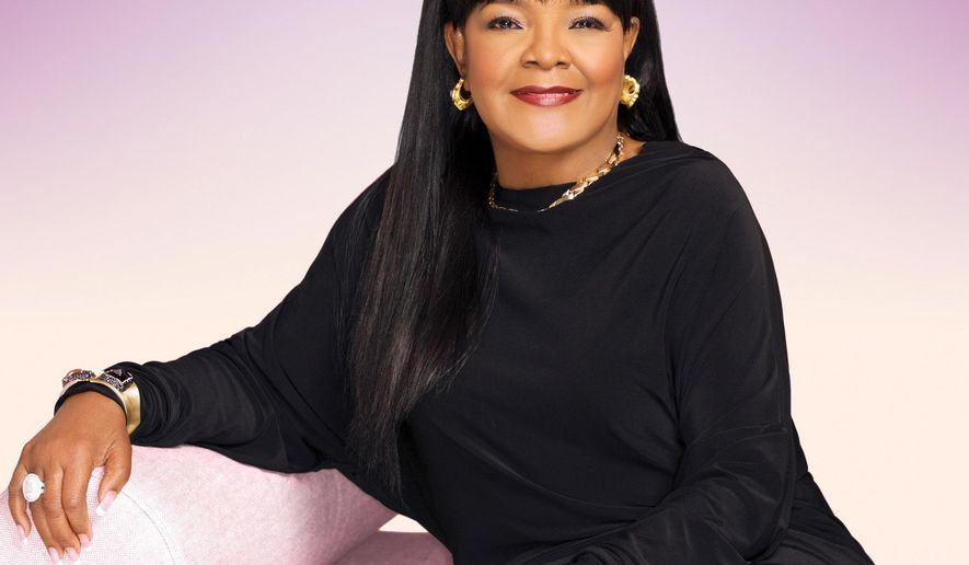 "This image provided by Entertainment One US on June 9, 2016 shows the cover of Shirley Caesar's album ""Fill This House."" She is also a pastor of a church in North Carolina. (Entertainment One US via AP)"