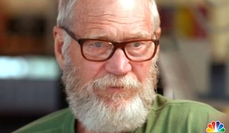 "Comedian David Letterman sat down with Tom Brokaw to discuss life after leaving the ""Late Show."" (NBC News screenshot)"