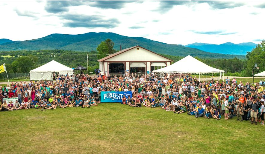 """The 13th annual Porcupine Freedom Festival - """"PorcFest"""" - begins June 19 in northern New Hampshire. (Image from The Free State Project)"""