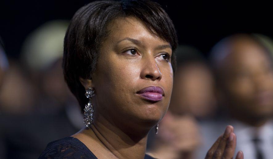 D.C. Mayor Muriel Bowser (Associated Press)