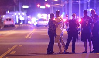 The shooting rampage at the Pulse nightclub in Orlando, Florida, in June killed 49 people and injured 53 others.(Associated Press/File)