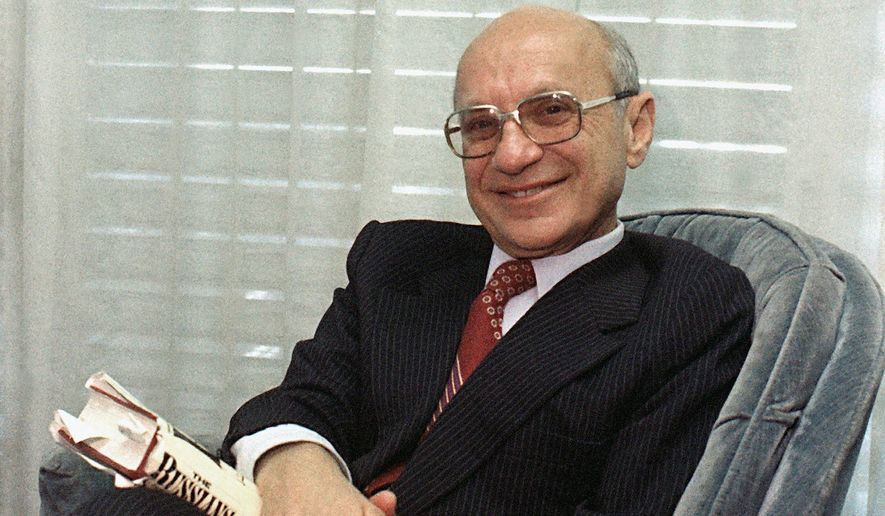 A version of economist Milton Friedman's minimum income was adopted in the 1970s as Earned Income Tax Credit. (Associated Press)