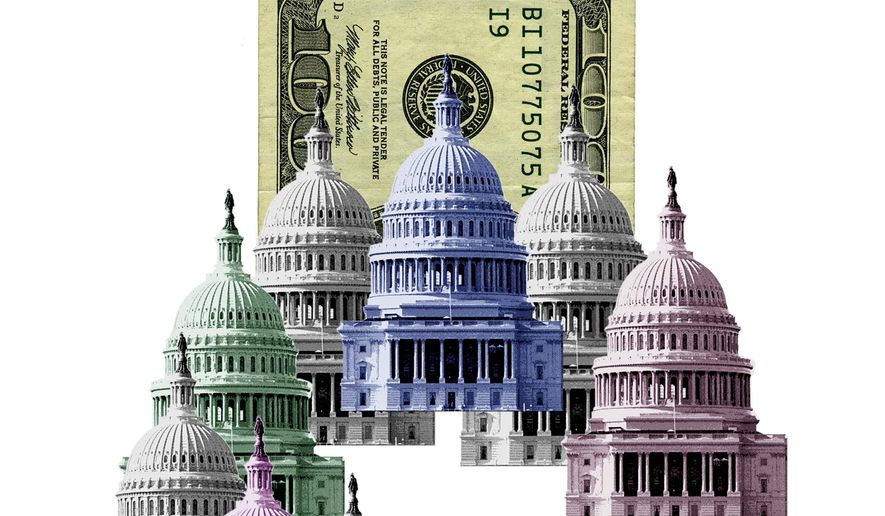 Huge Government Expense Illustration by Greg Groesch/The Washington Times