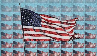 Flag Day Illustration by Greg Groesch/The Washington Times