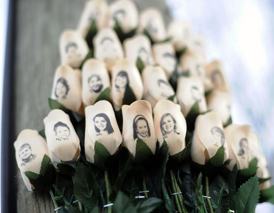 "Since the 2012 Sandy Hook massacre in Newtown, Connecticut, Congress has defined ""mass killing"" as three or more homicides in a single incident. (Associated Press/File)"