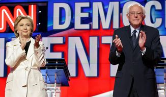 Democratic presidential candidates Sen. Bernie Sanders and Hillary Clinton met in Washington on Monday to discuss uniting the party to defeat presumptive GOP presidential nominee Donald Trump at the polls November. (Associated Press)