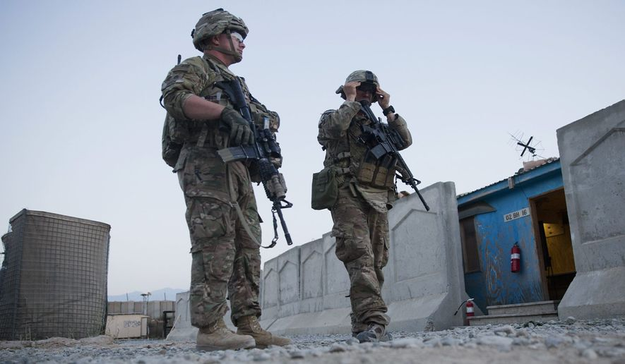 American troops have been approved to restart joint ground operations with Afghan forces at the behest of Gen. John Nicholson, the top U.S. commander on the ground. (Associated Press)