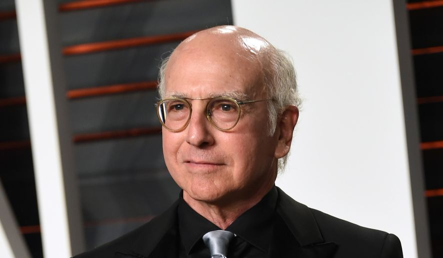 "FILE - In this Feb. 28, 2016 file photo, Larry David arrives at the Vanity Fair Oscar Party in Beverly Hills, Calif. David is bringing back his HBO comedy series, ""Curb Your Enthusiasm,"" for a ninth season. (Photo by Evan Agostini/Invision/AP, File)"