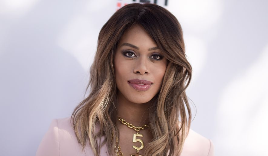 """Laverne Cox attends the premiere of """"Free CeCe"""" held at ArcLight Cinemas on Thursday, June 2, 2016, in Culver City, Calif. (Photo by Richard Shotwell/Invision/AP)"""
