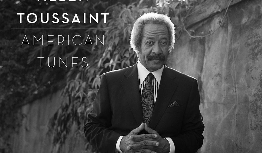 """This CD cover image released by Nonesuch shows """"American Tunes,"""" a release by the late Allen Toussaint. (Nonesuch  via AP)"""
