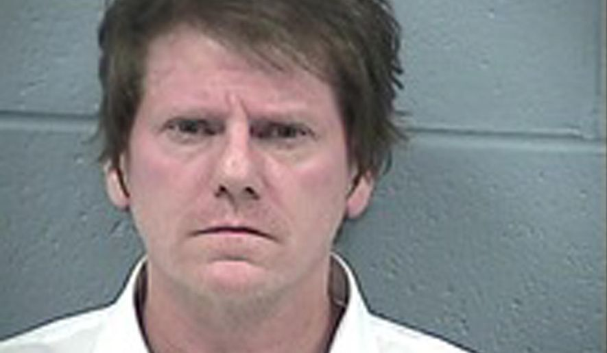 In this photo provided by the Rogers County, Okla., Sheriff's Office, Scott Montgomery Bennett is pictured. Bennett, former keyboardist for Brian Wilson's band, has been sentenced to five years in prison after a jury convicted him of sexually assaulting a 21-year-old woman after playing a show at an Oklahoma casino. (Rogers County Sheriff's Office photo via AP)