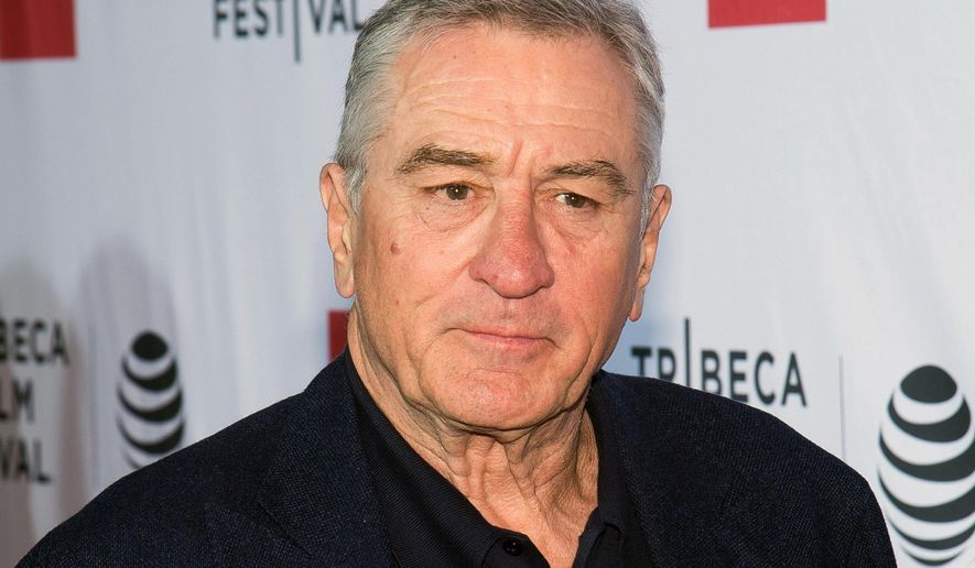 "In this April 21, 2016 file photo, Robert De Niro attends a special 40th anniversary screening of ""Taxi Driver"" during the 2016 Tribeca Film Festival in New York. (Photo by Charles Sykes/Invision/AP, File)"