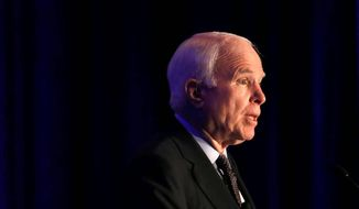 Sen. John McCain. (Associated Press) ** FILE **