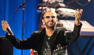 Ringo Starr said in a statement Wednesday, April 13, 2016, that he has canceled his June 18 concert in Cary, N.C., in opposition to the passage of the bill. (Photo by Owen Sweeney/Invision/AP, File)