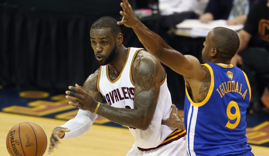 LeBron James has dominated the last two games of the NBA Finals. A winner-take-all Game 7 is Sunday night. (AP Photo/Ron Schwane)