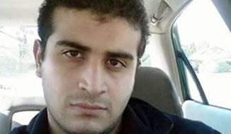 FILE - This undated file image shows Omar Mateen, who authorities say killed dozens of people inside the Pulse nightclub in Orlando, Fla., on Sunday, June 12, 2016. A bartender told The Associated Press that Mateen stalked her nearly a decade ago when he started coming into her Florida bar. (MySpace via AP, File)