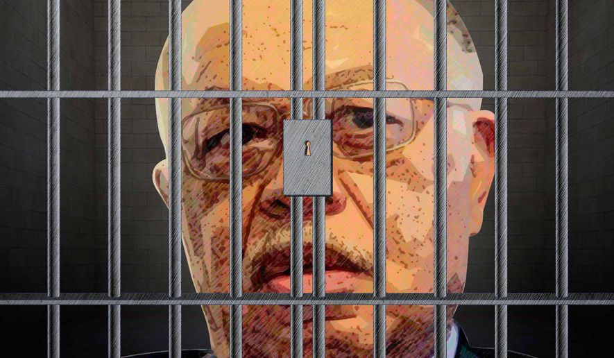 Gosnell in Prison Illustration by Greg Groesch/The Washington Times