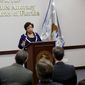 Attorney General Loretta Lynch addresses attorney's about the Pulse nightclub mass shooting at the U.S. Attorney's office, Tuesday, June 21, 2016, in Orlando, Fla. (AP Photo/John Raoux)
