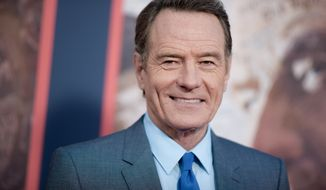"In this May 10, 2016, file photo, Bryan Cranston attends the LA Premiere of ""All The Way"" held at Paramount Pictures Studios in Los Angeles. Cranston announced on Twitter June 21, 2016, that he'll play Zordon in an upcoming ""Power Rangers"" film. (Photo by Richard Shotwell/Invision/AP, File) **FILE**"