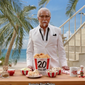 Actor George Hamilton in a KFC ad as Col. Sanders. Captured from YouTube. Accessed June 23, 2016. [video at: https://www.youtube.com/watch?v=OmNSHVXEPE0]