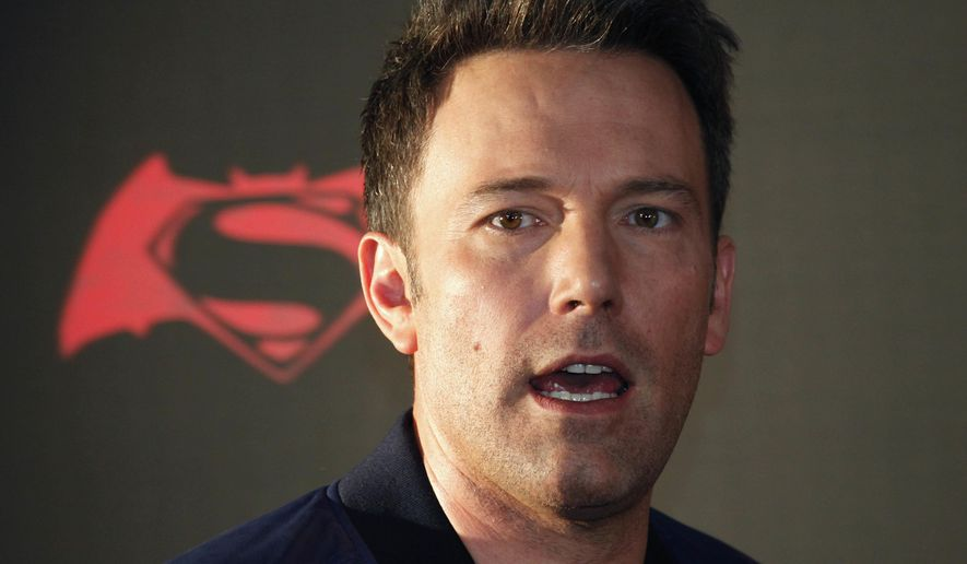 "Actor Ben Affleck poses for photos during a press conference to promote the movie ""Batman v Superman: Dawn of Justice"" in Mexico City, in this March 19, 2016, file photo. Affleck went on an expletive-filled, five-minute rant on the NFL's ""Deflategate"" controversy during an appearance on HBO's ""Any Given Wednesday"" on June 22, 2016. (AP Photo/Marco Ugarte, File)"