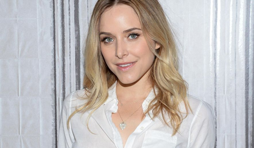 """FILE - In this June 3, 2015 file photo, actress and author Jenny Mollen poses backstage before AOL's BUILD Speaker Series to discuss her new book, """"I Like You Just the Way I Am"""" in New York. Mollen has a new book called """"Live Fast Die Hot,"""" released June 14, 2016. (Photo by Evan Agostini/Invision/AP, File)"""