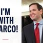 Sen. Marco Rubio has declared he is running for re-election in Florida and has ramped up a new state campaign. (Image from Sen. Marco Rubio)