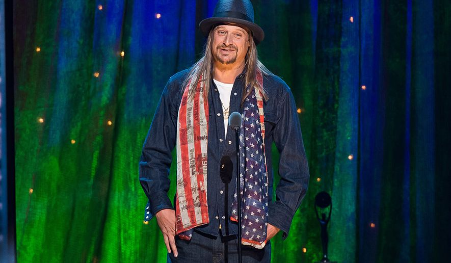 Kid Rock (Photo by Charles Sykes/Invision/AP, File)