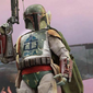 """Screen shot from the Facebook group Presbyterian Memes, captured on June 24, 2016. Mashup originally by Christopher Griffith of Blue Ridge, Va. The meme site jokingly said the new logo for the Presbyterian Church in America resembles the helmet worn by Boba Fett, the bounty hunter from """"The Empire Strikes Back"""" and """"Return of the Jedi."""""""