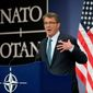 Defense Secretary Ashton Carter reportedly is concerned that the United Kingdom will leave the coalition in Afghanistan. He is slated to meet with British Defense Minister Michael Fallon during an upcoming NATO summit. (Associated Press)