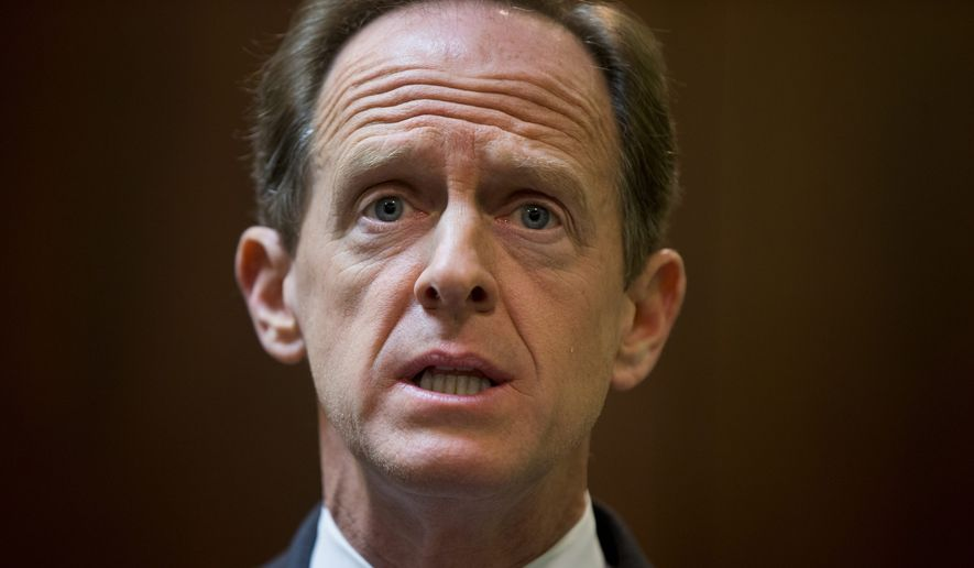 Sen. Pat Toomey, Pennsylvania Republican. (Associated Press) ** FILE **