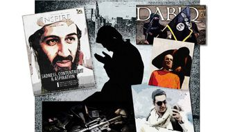 Jihad Magazines Collage by Greg Groesch/The Washington Times