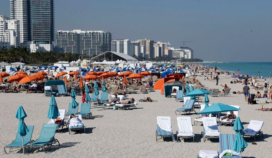 Miami Beach (AP Photo/Alan Diaz) ** FILE **