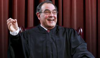 "Edward Gero portrays Supreme Court Justice Antonin Scalia in ""The Originalist."" (Tony Powell)"