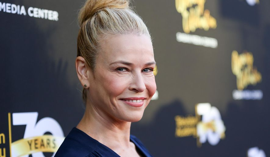 In this June 2, 2016, file photo, Chelsea Handler arrives at the Television Academy's 70th Anniversary at The Television Academy in Los Angeles. (Photo by Rich Fury/Invision/AP,file)