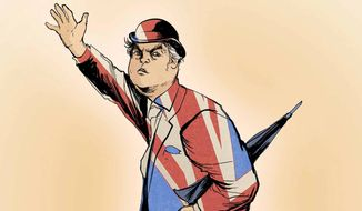 Illustration on the Brexit vote by Paul Tong/Tribune Content Agency