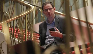 """Nate Silver is the director of the polling site FiveThirtyEight and became a national figure when he correctly called all 50 states in the 2008 presidential race, and all but one in 2012, based on his weighted averages of state polls — a """"poll of polls"""" essentially. (Associated Press)"""