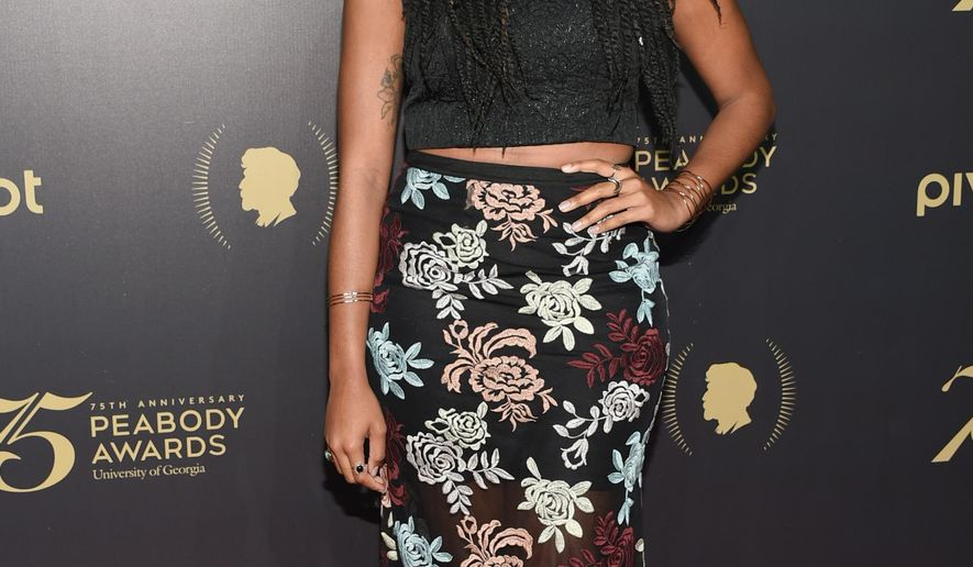 "FILE - In this May 21, 2016 file photo, ""The Daily Show"" correspondent Jessica Williams attends the 75th Annual Peabody Awards Ceremony at Cipriani Wall Street in New York.  Williams is leaving as a correspondent on Comedy Central's ""The Daily Show"" after four years this week. But she's not straying far. The network said Wednesday, June 29  that Williams will be concentrating on a new scripted show that she's developing for Comedy Central.(Photo by Evan Agostini/Invision/AP)"