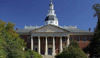 Maryland State House. Photo credit: Martin Falbisoner. Accessed via Wikicommons Media.