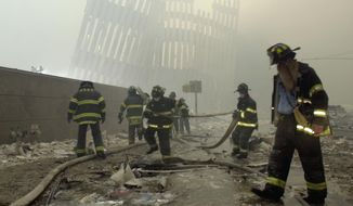 The urgency to return to normal after the devastating terrorist attacks on Sept. 11, 2001, was viewed as a national and patriotic mission, and the air near ground zero was soon thought to be safe. (Associated Press/File)