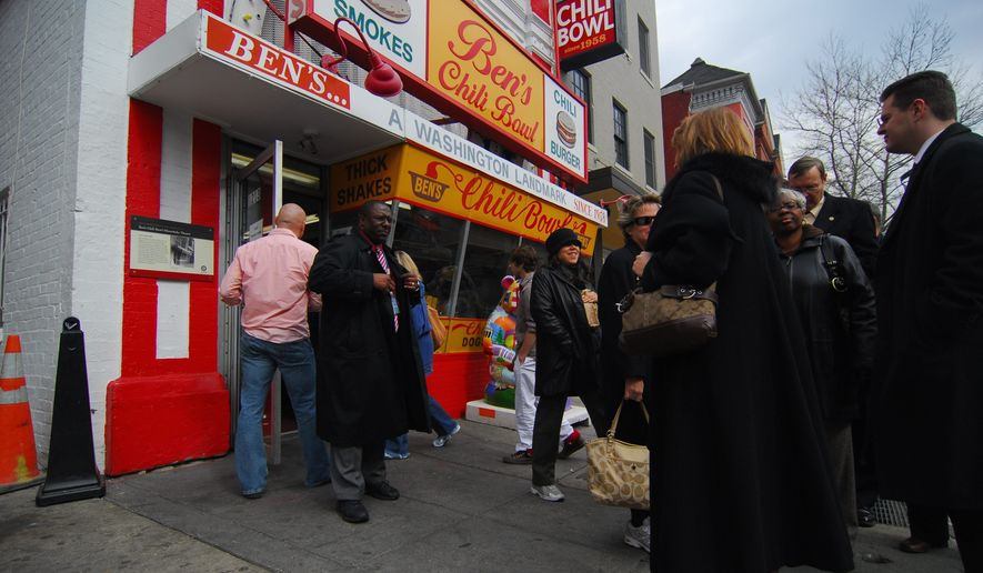 "The Ben Ali Family, owners of Ben's Chili Bowl, has opened another ""Ben's"" restaurant. The newest is Ben's Upstairs (1001 H St. NE), with a menu of ""Southern with a twist of Caribbean"" food. (Washington Times) **FILE**"