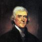 Thomas Jefferson, upon winning the presidential election of 1800, called for the putting aside of partisan politics. (White House Historical Association) ** FILE **