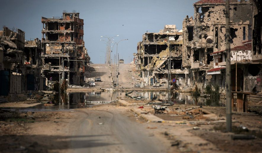 Sirte and other parts of Libya became destabilized after the death of Moammar Gadhafi, and President Obama acknowledged that a lack of planning after the U.S. intervention was his worst mistake. (Associated Press)