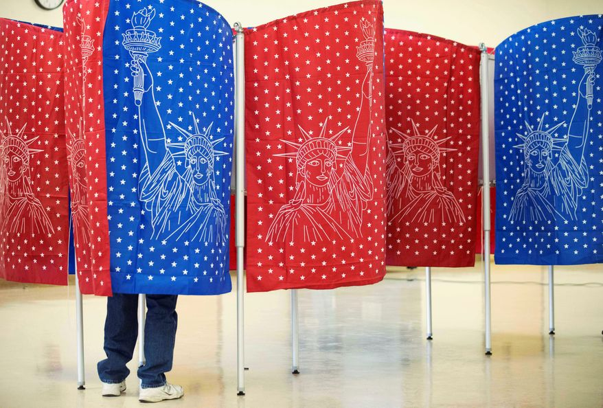 A new study by the Government Accountability Office contradicts hopes that allowing voters to vote prior to Election Day will increase turnout. (Associated Press)