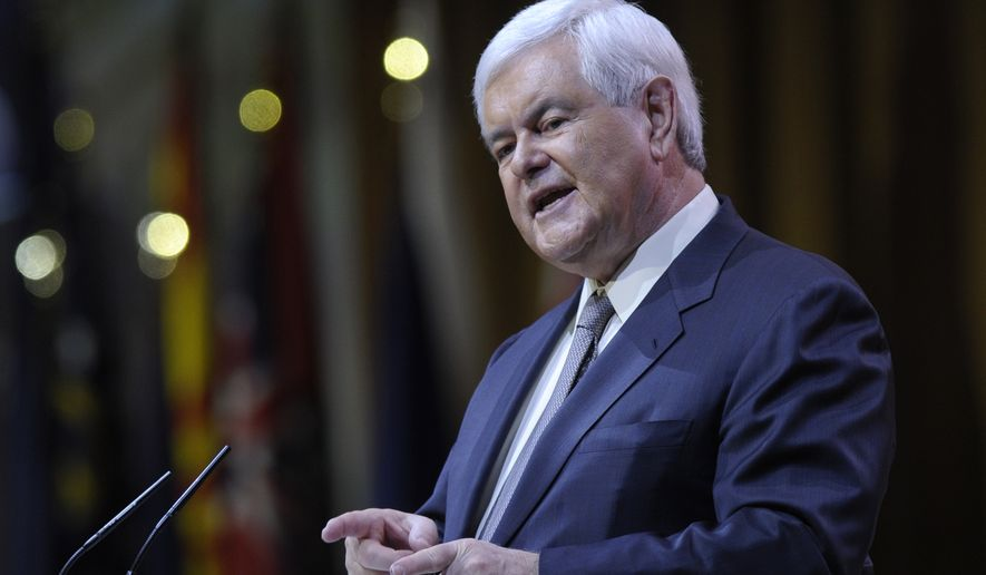 Former House Speaker Newt Gingrich wants the running-mate job. Just as important, over the past several months of advocacy for Donald Trump, Mr. Gingrich has shown that he can manage to extol the billionaire businessman's virtues and explain his failures without upstaging him. (Associated Press)