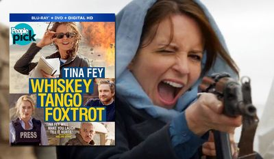 "Tina Fey stars in ""Whiskey Tango Foxtrot,"" now available on Blu-ray from Paramount Home Entertainment."