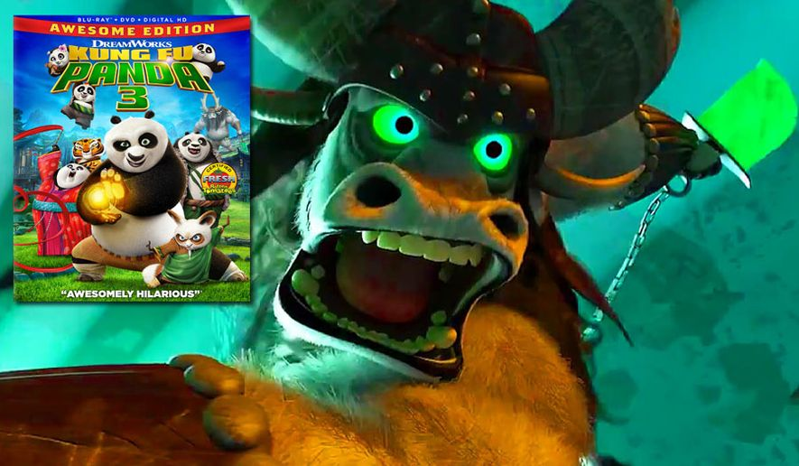 "General Kai on the rampage in ""Kung Fu Panda 3: Awesome Edition,"" now available on Blu-ray from 20th Century Fox Home Entertainment."