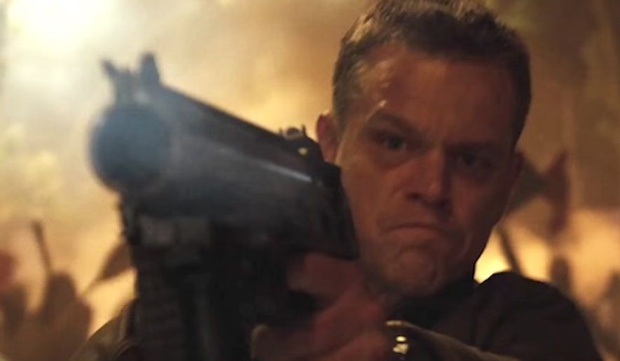 Matt Damon stars as Jason Bourne in Universal Pictures' popular spy franchise based on the character. (YouTube, Universal Pictures)